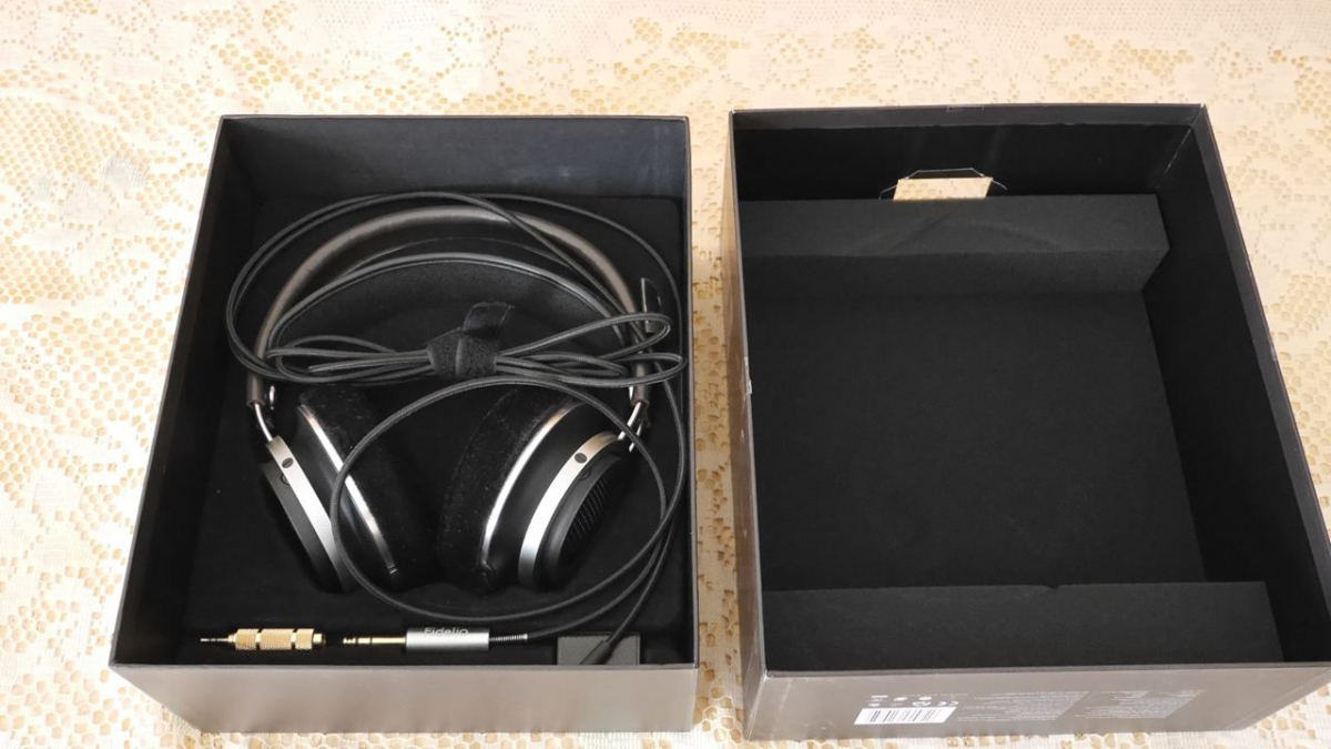 Cuffie dinamiche di tipo bass Reflex Philips Fidelio M1 MKII 2b20d8597ec5
