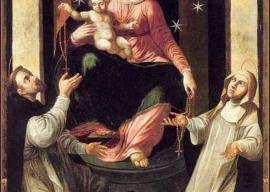 Novena alla Madonna del Rosario di Pompei con riferimenti alle Opere di M. Valtorta: Primo giorno