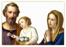 Triduo in Onore di San Giuseppe con riferimenti alle Opere di Maria Valtorta: Secondo Giorno