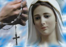 Festa della Beata Maria Vergine del Rosario con riferimenti alle Opere di M. Valtorta